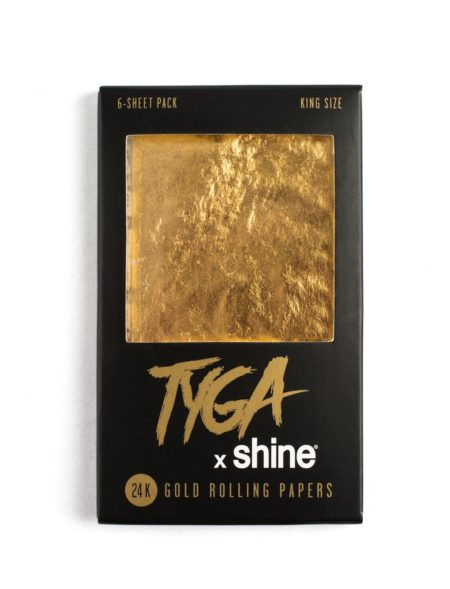Tyga X Shine 24K King Size 6-Sheet Pack