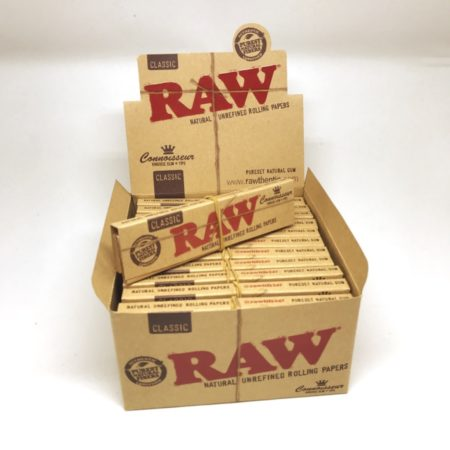 RAW CONNOISSEUR KING SIZE PAPER MIT FILTER TIPS