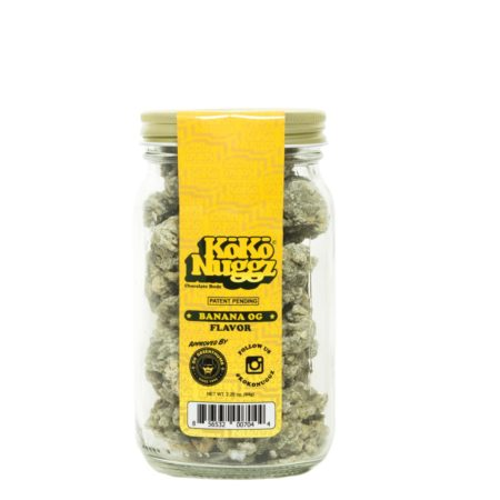 BANANA OG Flavor Chocolate Budz 2.25oz