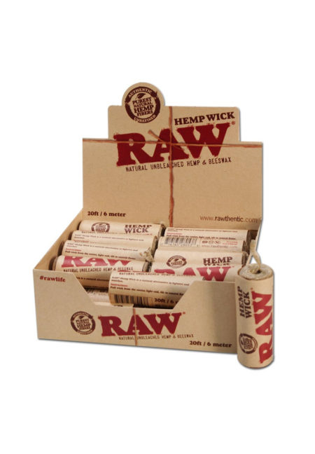 RAW Hemp Wick 6 Meter