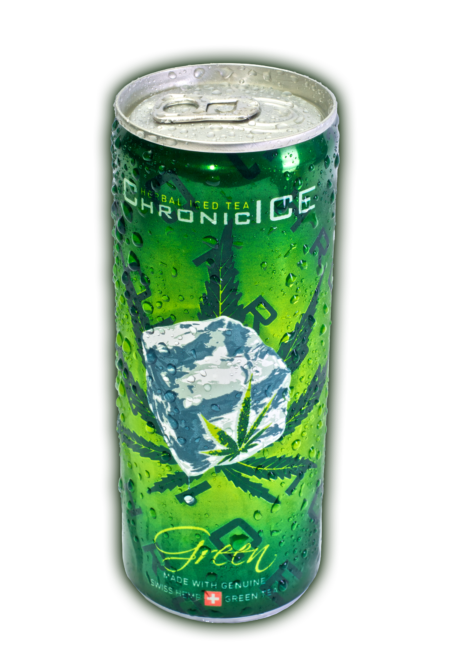 Cannabis Chronic Ice Tea Drink Energy