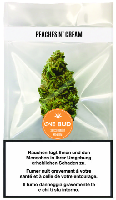 Peaches and Cream One Bud | ØNE CBD | Weed Shop