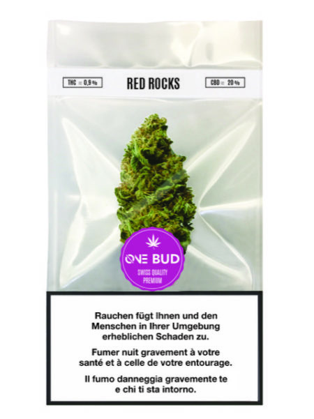 Red Rocks One Bud | ØNE CBD | Cannabis Weed Shop