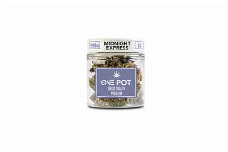 MIDNIGHT EXPRESS ONE POT | ØNE CBD | WEED