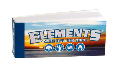Elements breite Filter Tips wide King Size Filtertips