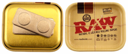 RAW MINIATURE ROLLING TRAY WITH MAGNET