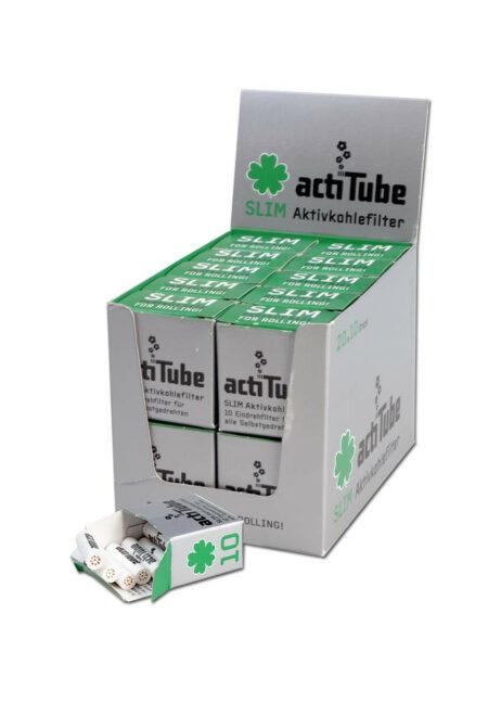 actiTube Aktivkohlefilter SLIM 10 Stk