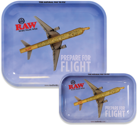 RAW Prepare for Flight Rolling Tray Drehunterlage