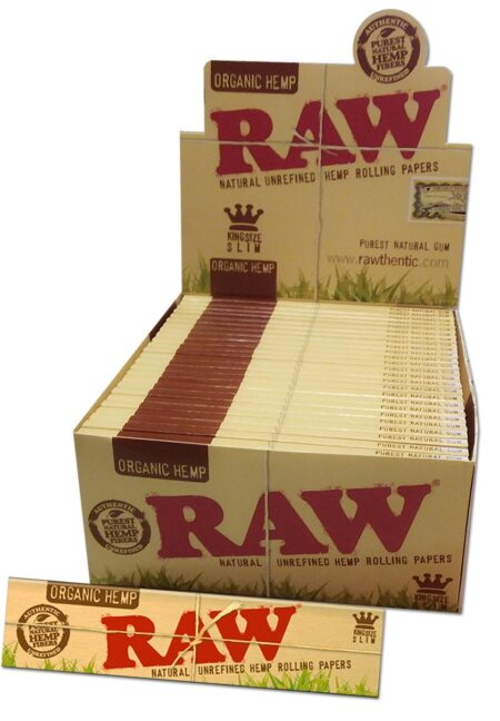 RAW Organic Hemp Papers KS Slim