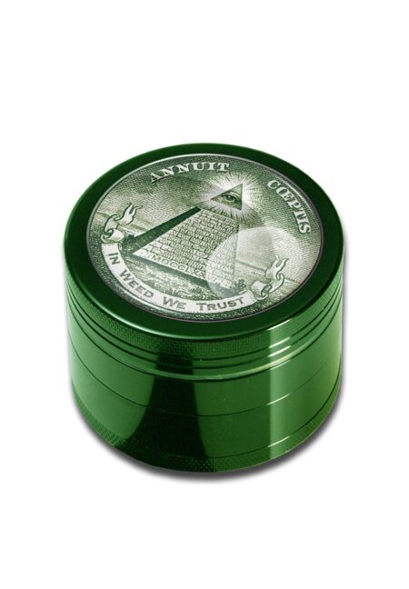4part-Grinder In Weed We Trust