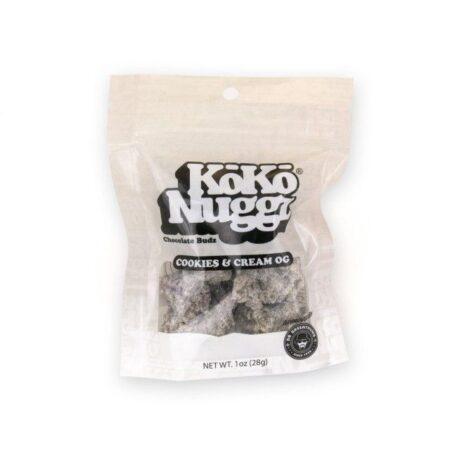Cookies & Cream OG Chocolate Buds (1oz) by KokoNuggz