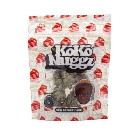Holygxd Red Velvet Cake Flavour Chocolate Budz (1oz) KokoNuggz