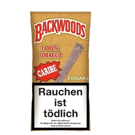 Backwoods Caribe Rum Box 8x5pc