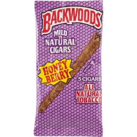 Backwoods Honey Berry Box 8x5pc