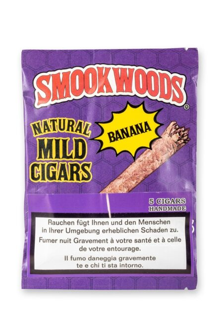 Smookwoods Cigar Banana Box 8x5Stk