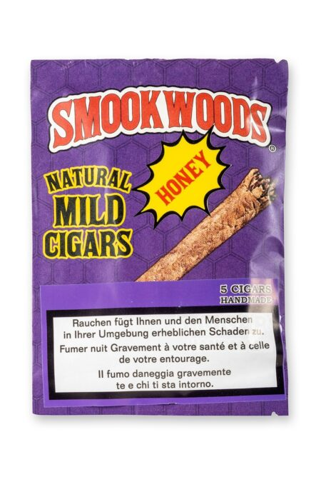 Smookwoods Cigar Honey Box 8x5pc
