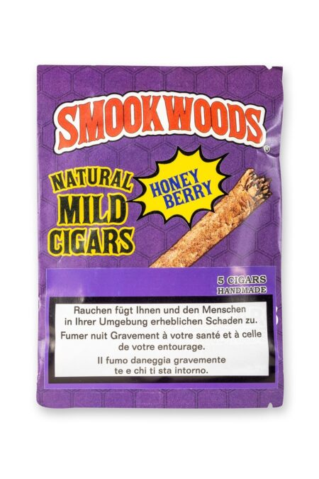 Smookwoods Cigar Honeyberry Box 8x5pc