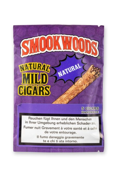 Smookwoods Cigar Natural Box 8x5pc
