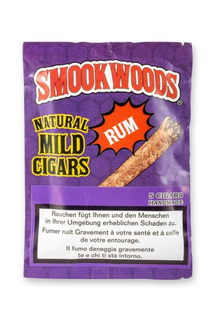 Smookwoods Cigar Rum Box 8x5Stk