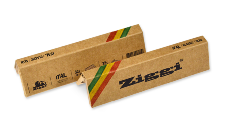 Ziggi Rolling Papers Classic Slim Ital + Tips