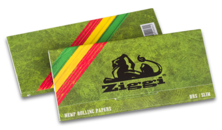 Ziggi Rolling Papers URS Slim Hemp mit Filter Tips
