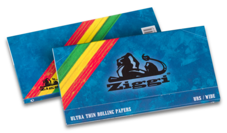 Ziggi Rolling Papers URS Wide Ultra Thin mit Filter