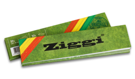 Ziggi Rolling Papers Classic Slim Hemp mit Filter